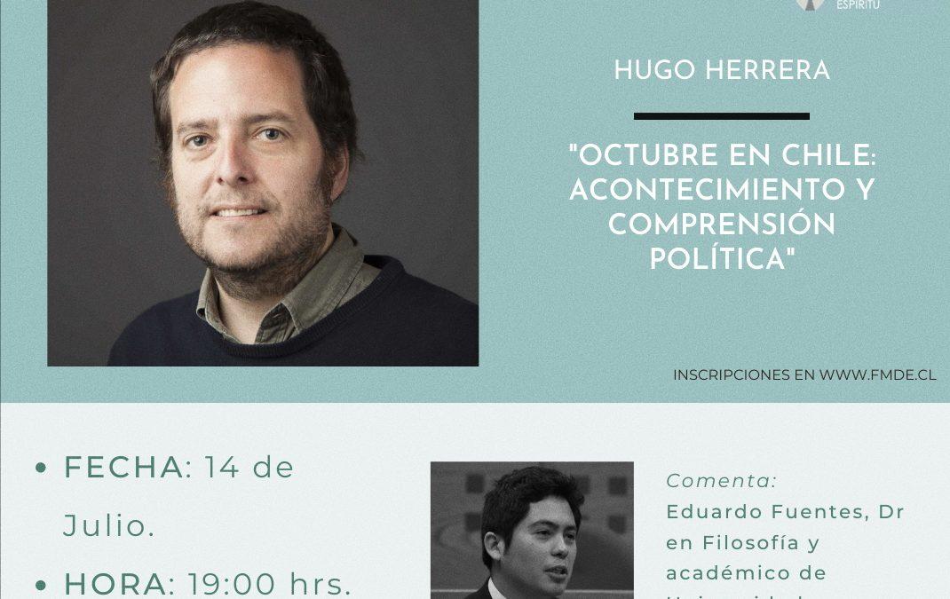 Conversatorio online con Hugo Herrera