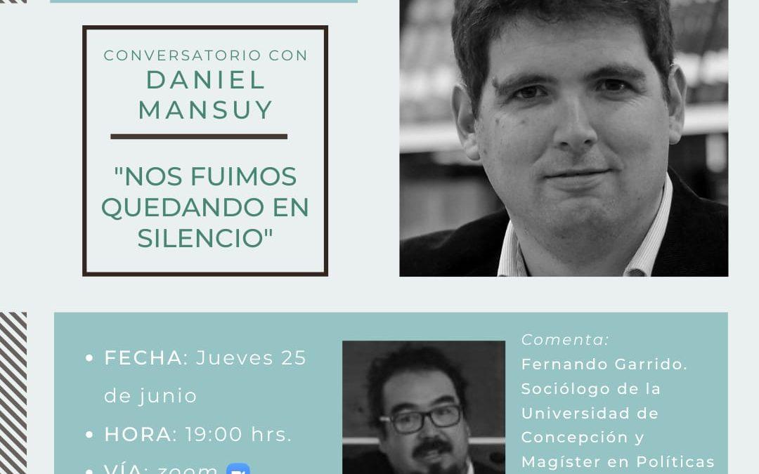 Conversatorio online con Daniel Mansuy