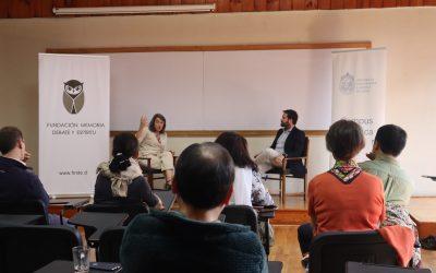 Conversatorio con Sol Serrano Campus Villarrica UC